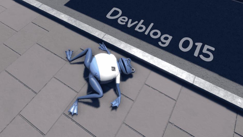 Amazing Frog? Devblog 015