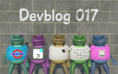 Amazing Frog? Devblog 017