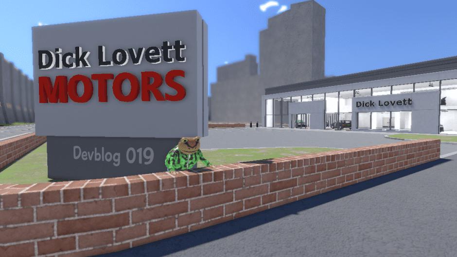 Amazing Frog ? Devblog 019 Dick Lovett