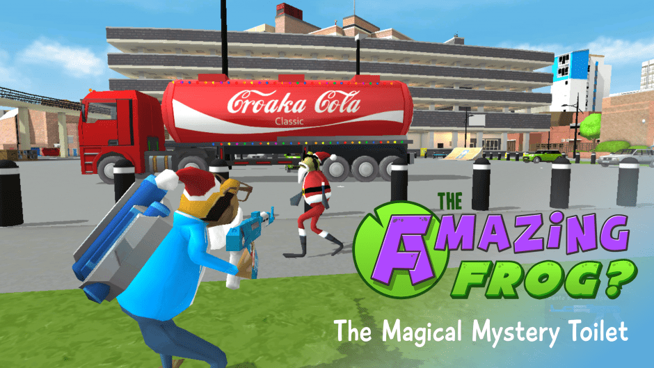 Amazing Frog? XMAS UPDATE [V2]  – The Magical Mystery Toilet f0.2.9a