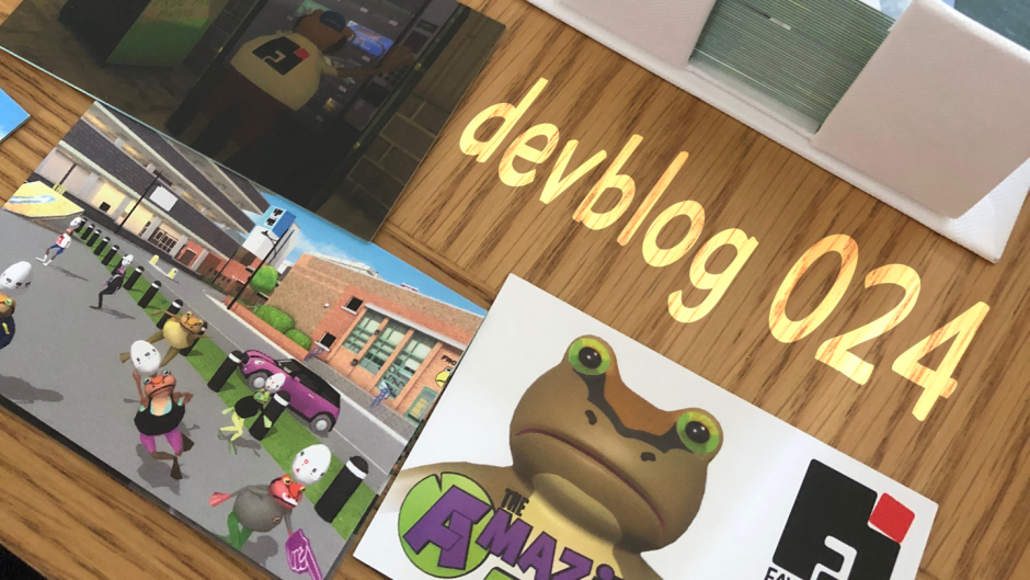 Amazing Frog? Devblog 024 Bugs n' pebbles