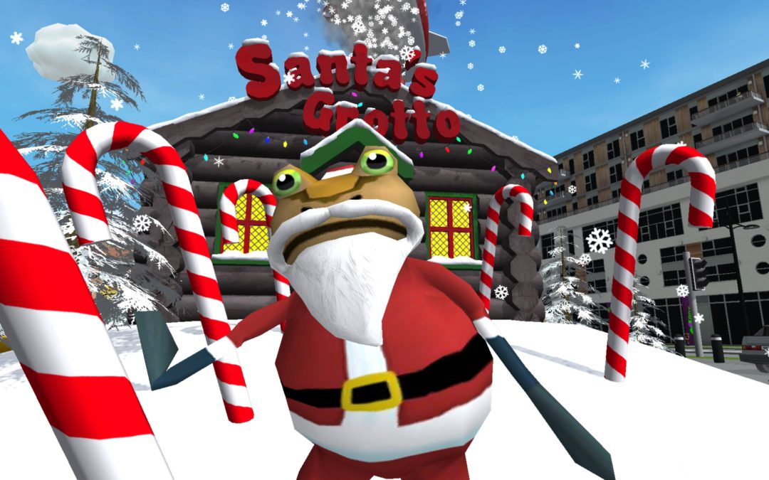 Amazing Frog? Santa's Swindon Snow Storm Update (phase 1)